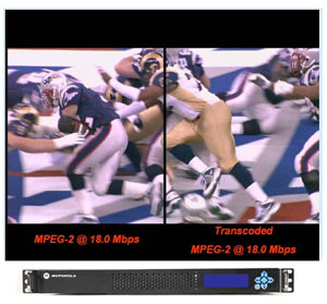 Operators will incorporate MPEG-4 in their highest service tiers first, ...