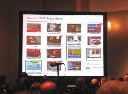 comcast-tru2way-2009-applications-cable-show-panel