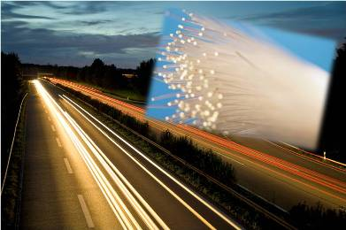 Fiber optic cable highways roads federal infrastructure