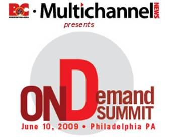 On Demand Summit Broadcasting and Cable Multichannel News logo