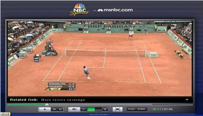 Wimbledon online NBC