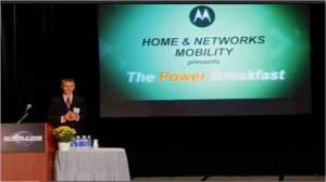 4G World Power Breakfast Motorola