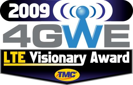 4GWE-LTEVA-2009-Motorola-LTE Visionary Award TMC EPC SON