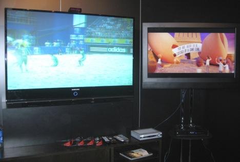 Motorola active passive 3D TV 3DTV SCTE Cable-Tec Expo 2009