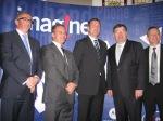 Motorola team with Brian Cowen Irish Prime Minister