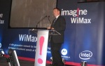 Steve McCaffery at Motorola Imagine launch event