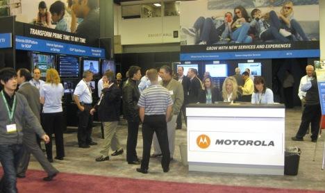 Motorola booth SCTE 2009