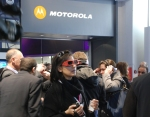 Mobile World Congress Motorola 3D demo MWC