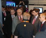 Mobile World Congress Russian Minister of Telecommunications Igor Shegolev Motorola MWC